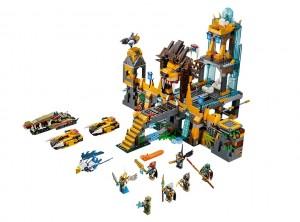 LEGO 70010 Chima The Lion CHI Temple - Toysnbricks