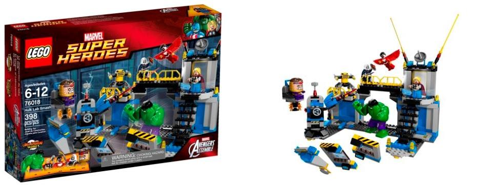 LEGO 76018 Marvel Super Heroes Hulk Lab Smash - Toysnbricks