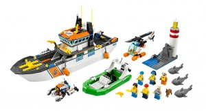 LEGO City 60014 Coast Guard Patrol - Toysnbricks