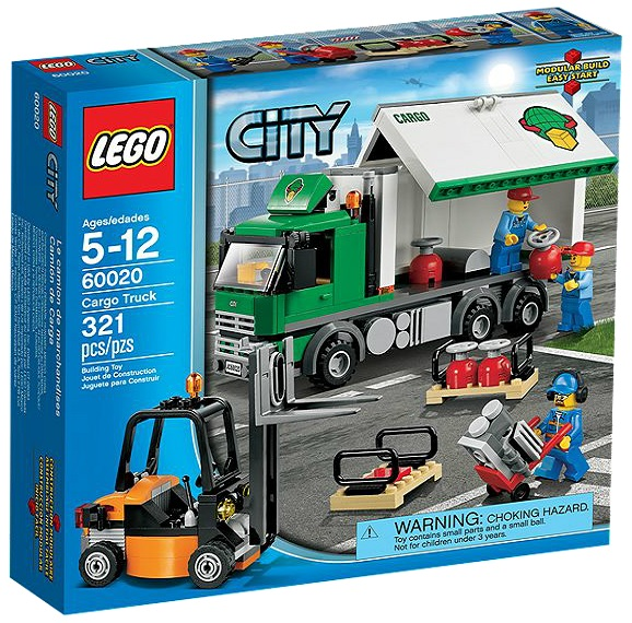 LEGO City Cargo Truck 60020 - Toysnbricks