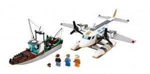 LEGO City Coast Guard Plane 60015 - Toysnbricks