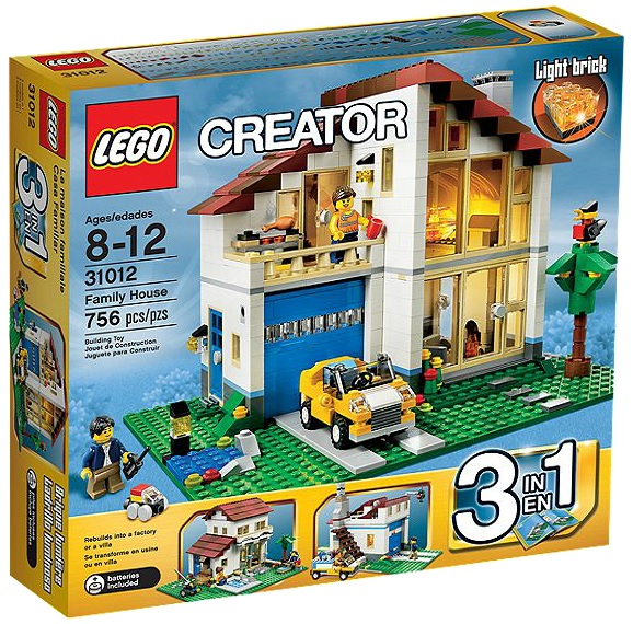 LEGO Creator Family House 31012 - Toysnbricks