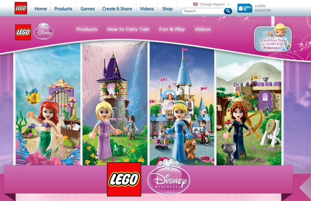 LEGO Disney Princess Microsite 2014