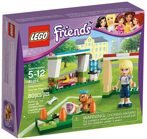 LEGO Friends Stephanie's Soccer Practice 41011 - Toysnbricks