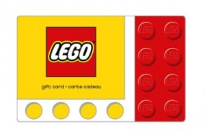 LEGO Gift Card Wallet Size