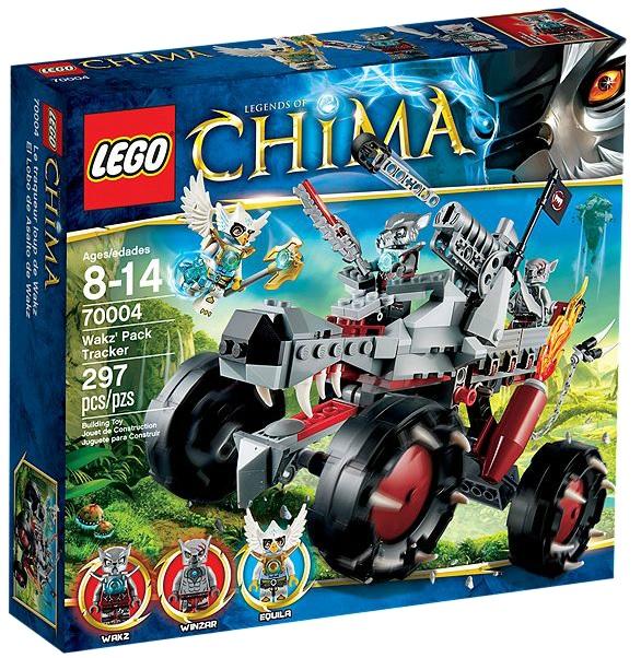 LEGO Legends of Chima Wakz Pack Tracker 70004 - Toysnbricks