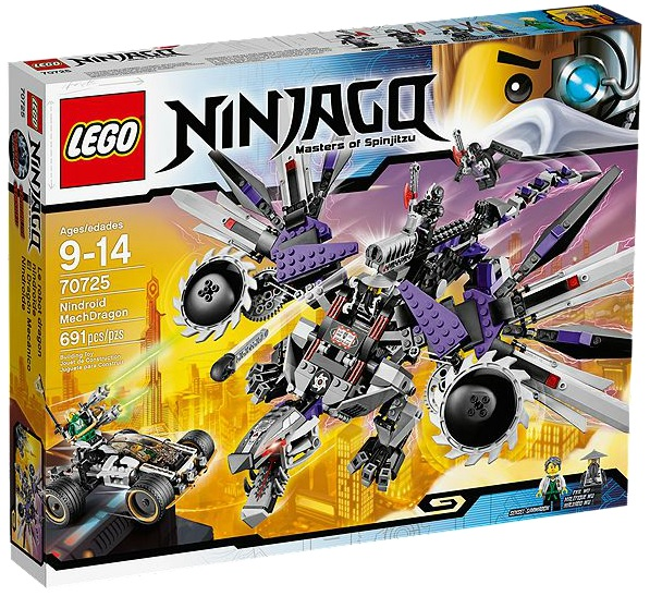 LEGO Ninjago MechDragon 70725 (Rebooted) - Toysnbricks