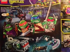 LEGO Teenage Mutant Ninja Turtles 2014 Sets (Pre)