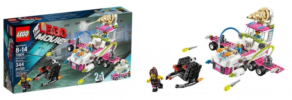 The LEGO Movie 70804 Ice Cream Machine - Toysnbricks