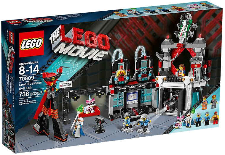 The LEGO Movie Lord Business' Evil Lair 70809 - Toysnbricks