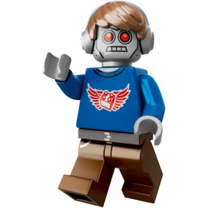 2014 The LEGO Movie Radio DJ Robo LEGO Minifigure