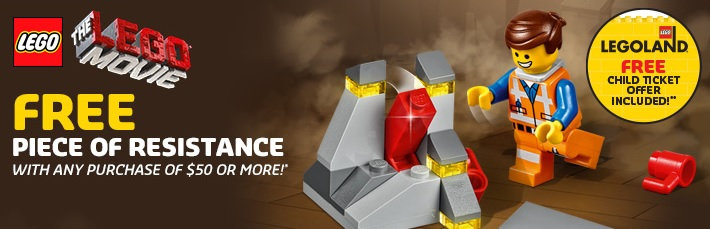 LEGO 30280 Piece of Resistance Polybag February 2014 Promotion - Toysnbricks