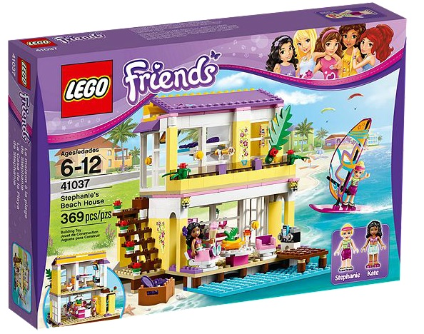 LEGO 41037 Friends Stephanie's Beach House - Toysnbricks