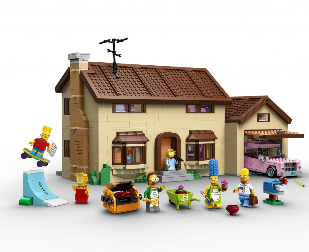 LEGO 71006 The Simpsons House (High Resolution)