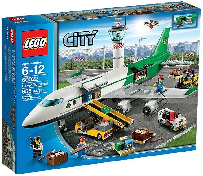 LEGO City Cargo Terminal 60022 - Toysnbricks
