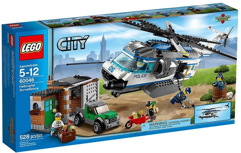 LEGO City Helicopter Surveillance 60046 - Toysnbricks