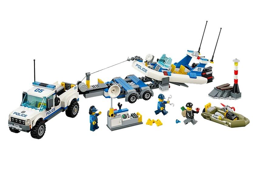 LEGO City Police Patrol 60045 - Toysnbricks