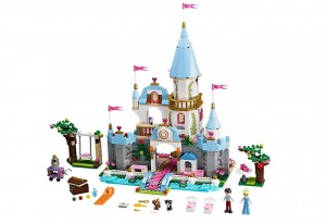LEGO Disney Princess Cinderella's Romantic Castle 41055 - Toysnbricks