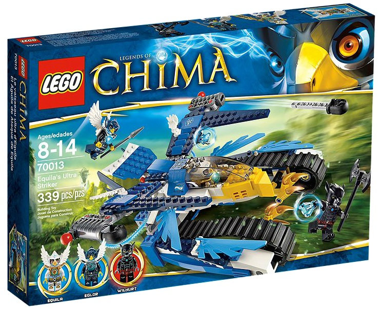 LEGO Legends of Chima 70013 Equila's Ultra Striker - Toysnbricks