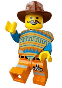 LEGO Movie Emmet Minifigure Video Game Promotion 2014 - Toysnbricks