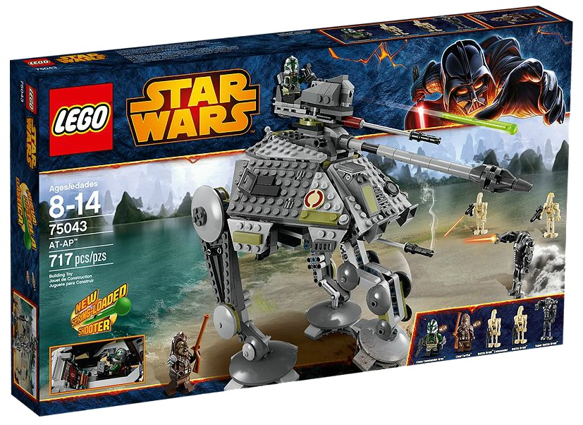 LEGO Star Wars AT-AP 75043 - Toysnbricks