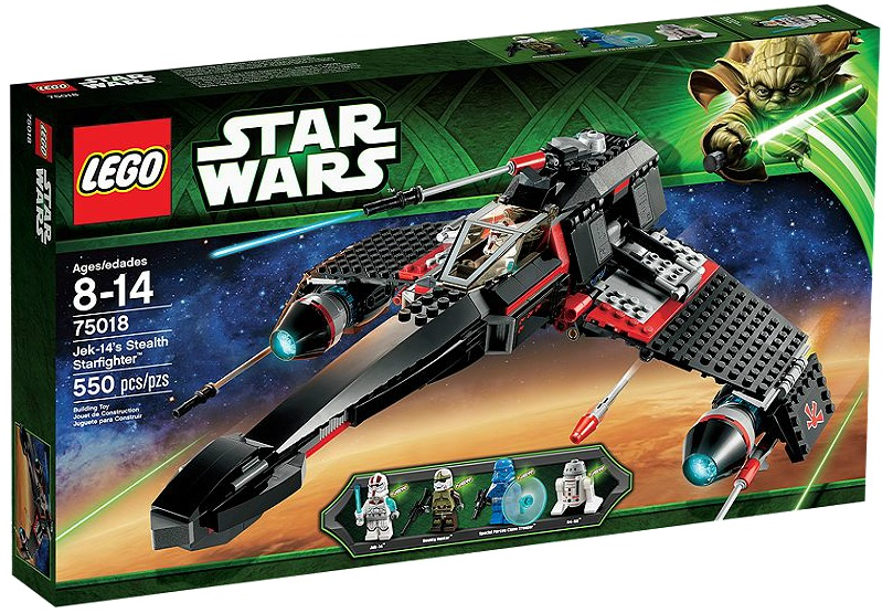 LEGO Star Wars Jek-14's Stealth Starfighter 75018 - Toysnbricks