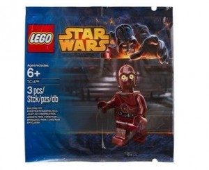 LEGO Star Wars TC-4 Minifigure 2014 Hong Kong Toys R Us