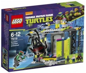 LEGO Teenage Mutant Ninja Turtles 79119 Mutation Chamber Unleashed (Pre)