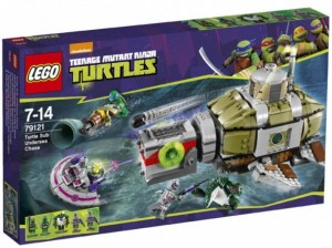 LEGO Teenage Mutant Ninja Turtles 79121 Turtle Sub Undersea Chase (Pre)
