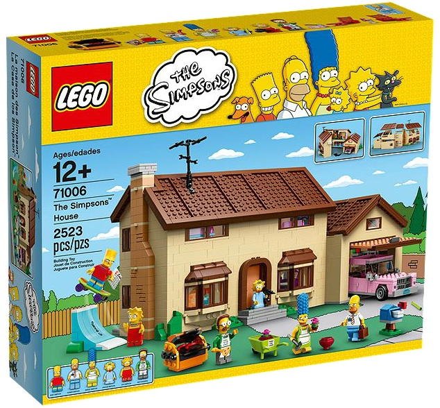 LEGO The Simpsons House 71006 - Toysnbricks