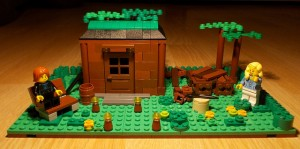[MOC] Cabin in the Woods