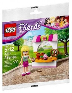 30113 LEGO Friends Stephanie's Bakery Stand Polybag