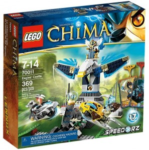 70011 LEGO Legends of Chima Eagles' Castle - Toysnbricks