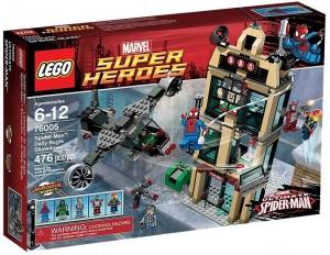 76005 LEGO Super Heroes SpiderMan Daily Bugle Showdown