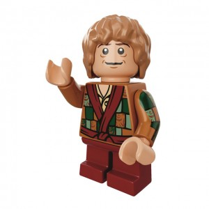 Good Morning LEGO Bilbo Baggins Minifigure Gamestop