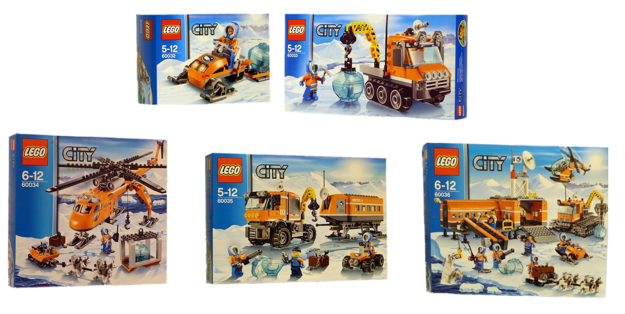 Pin lego 60032 city the lego summer wave in official images on - Lego City Arctic 2014 Sets 60032 60033 60034 60035 60036