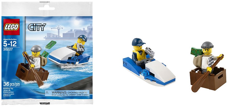 LEGO City Police Watercraft 30227 Polybag - Toysnbricks
