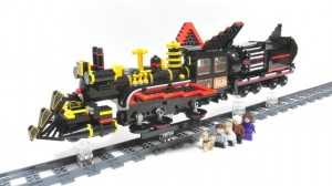 LEGO Cuusoo Back to the Future Jules Verne Train