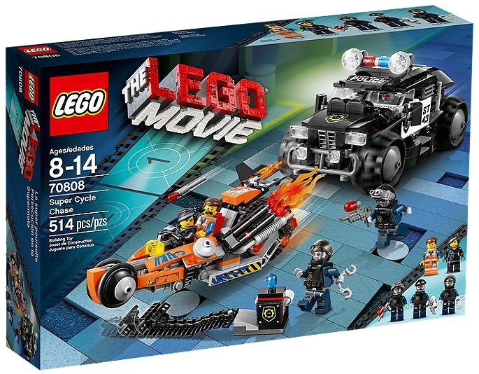 LEGO Movie 70808 Super Cycle Chase - Toysnbricks
