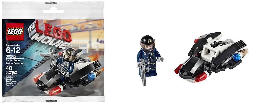 LEGO Movie Super Secret Police Enforcer 30282 - Toysnbricks