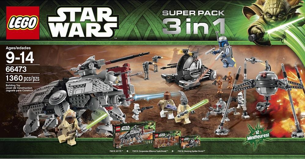 LEGO Star Wars 66473 Super Pack 3 in 1 - Toysnbricks