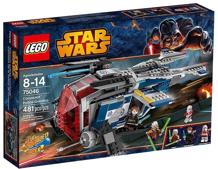 LEGO Star Wars Coruscant™ Police Gunship 75046 - Toysnbricks