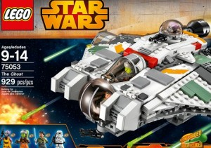 LEGO Star Wars Rebels 75053 The Ghost (Pre)