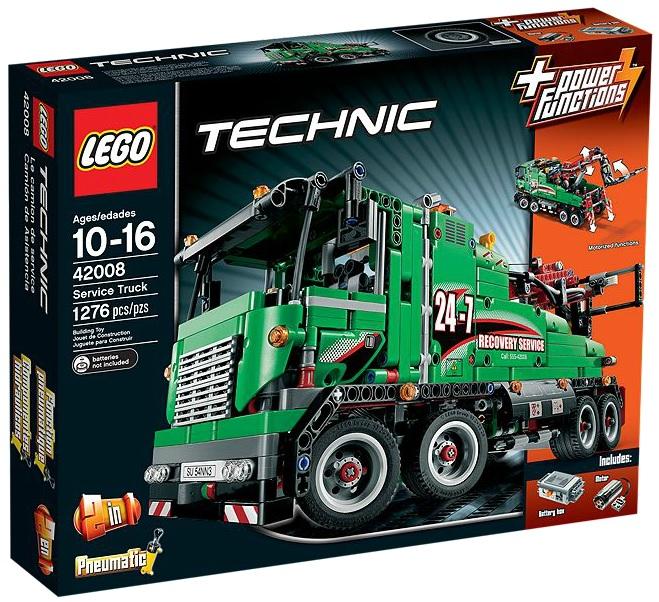 LEGO Technic Service Truck 42008 - Toysnbricks