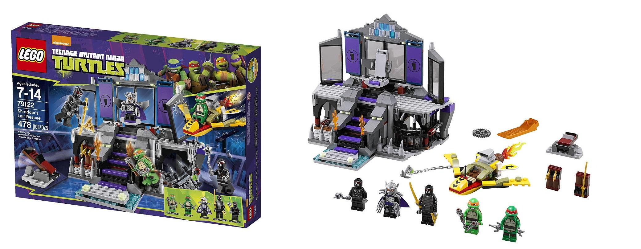 79122 Shredder S Lair Rescue Lego Tmnt Set Toys N Bricks Lego