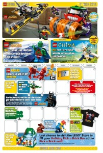 March 2014 LEGO Store Calendar - Toysnbricks