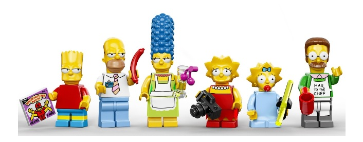 2014 LEGO The Simpsons Minifigures