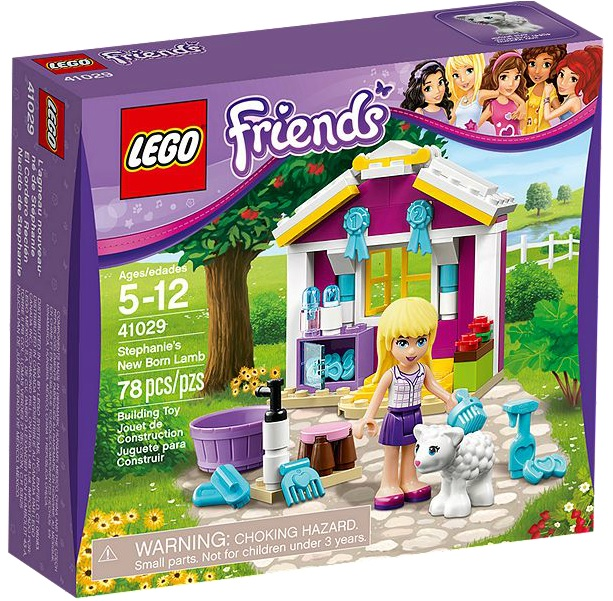 41029 LEGO Friends Stephanie's New Born Lamb - Toysnbricks