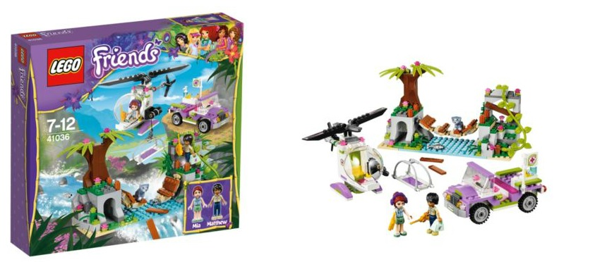41036 LEGO Friends Jungle Bridge Rescue