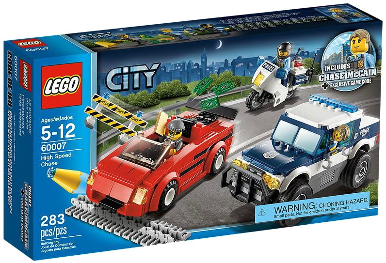 60007 LEGO City High Speed Chase - Toysnbricks